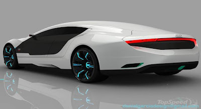 Concept Car Audi A9 Seen On www.coolpicturegallery.us