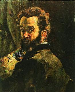 Арман Гийомен. Автопортрет. 1878.