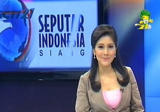 Pembaca Berita Seputar Indonesia Isyana Bagoes Oka