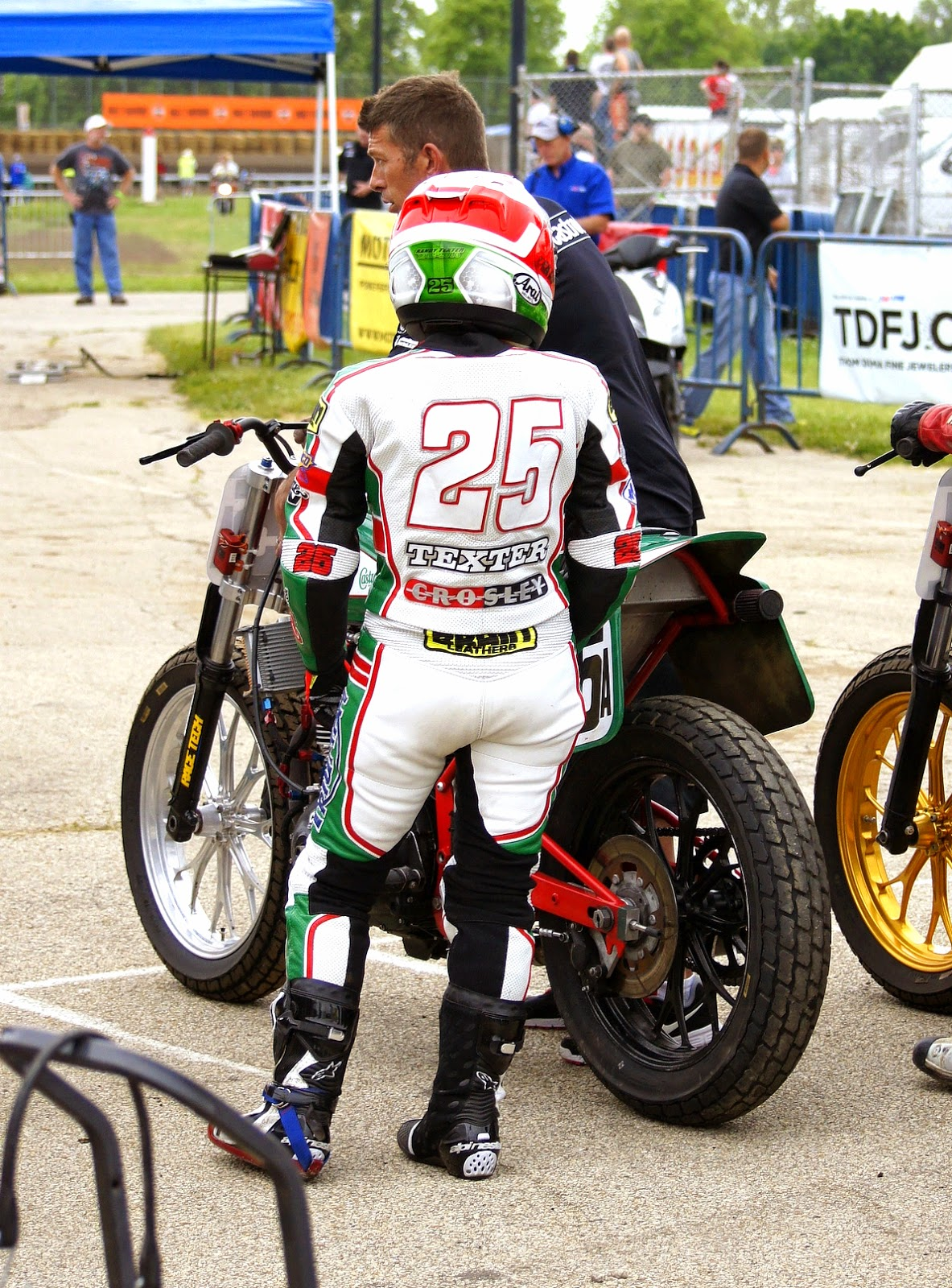 Stu's Shots R Us: Shayna Texter Looking Forward to Return to AMA Pro Flat Track Grand National ...
