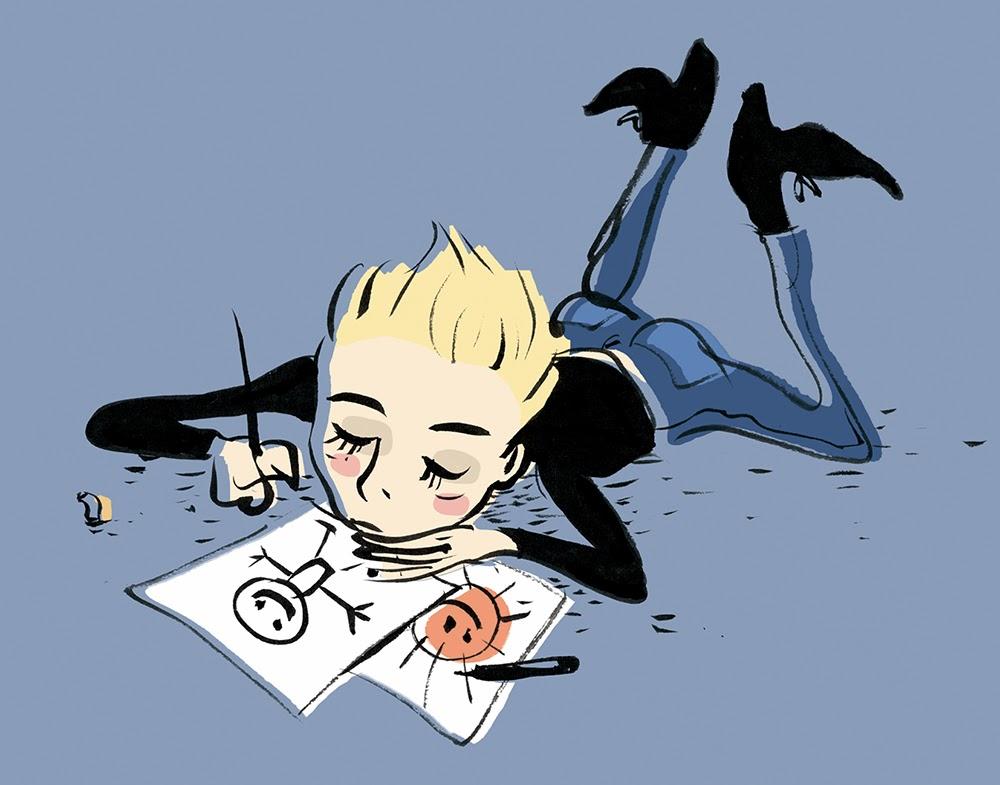 """""""alla fine fai solo dei disegnini..."""""""