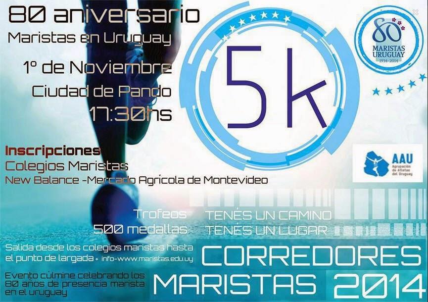 5k Maristas (Pando, Canelones, 01/nov/2014)