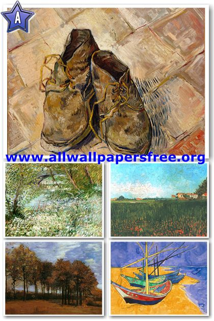 200 Amazing Vincent Van Gogh Artworks [Up to 6400 Px] [Set 1]