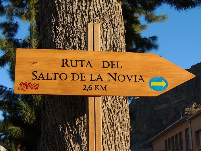 RUTA DEL SALTO DE LA NOVIA (Ojós):