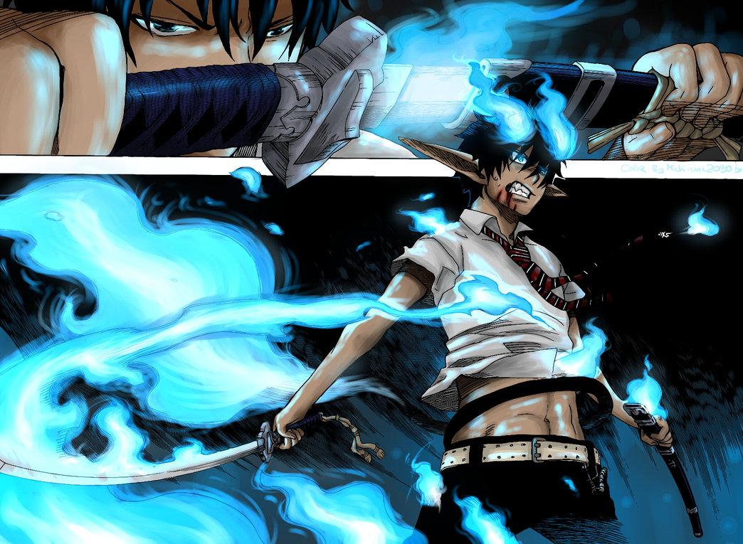Ao no Exorcist Ao_no_exorcist__manga_colored__by_michi_sama2030-d395vaf1