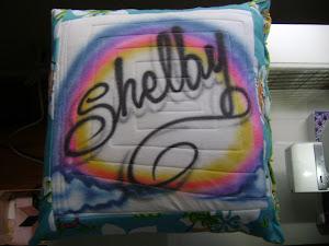 Shelby's T-Shirt Pillow