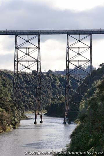 The Mohaka Viaduct, Hawke's Bay's most photographed bridge photograph