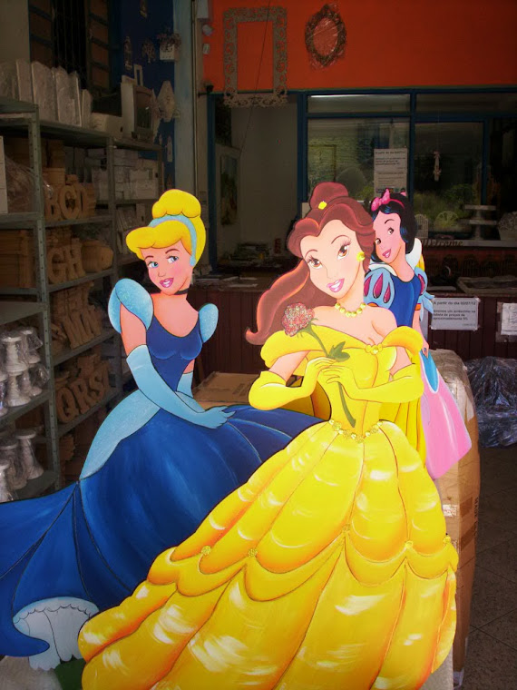 Paineis das Princesas
