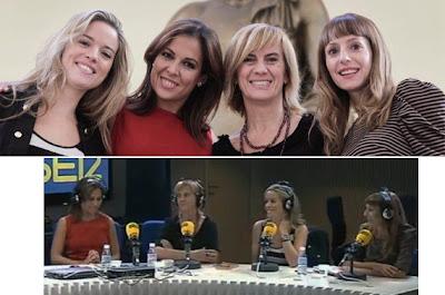 Cristina Lasvignes, Mara Torres, Gemma Nierga, Macarena Berlín