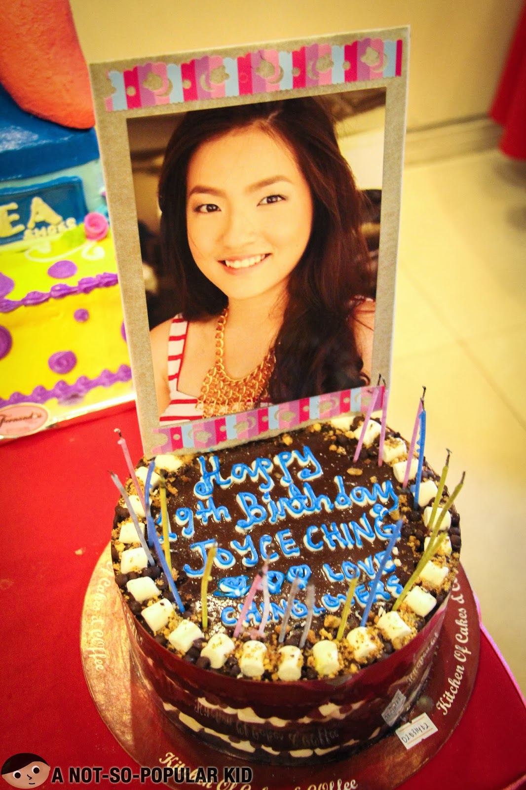 Cake from Chinglovers for no other than Joyce Ching!