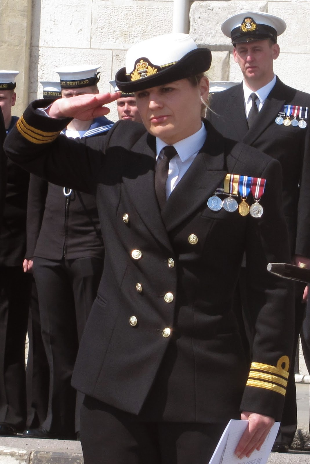 Commander of HMS Portland Sarah West Sent Home from Deployment