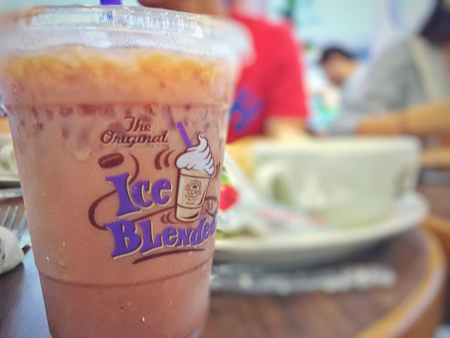 Coffee Bean and Tea Leaf at Tampines 1 - Iced Coffee