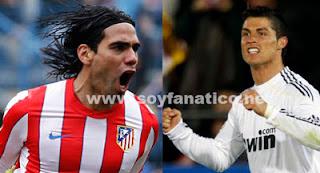Clásico Real Madrid vs Atlético Copa del Rey 2013