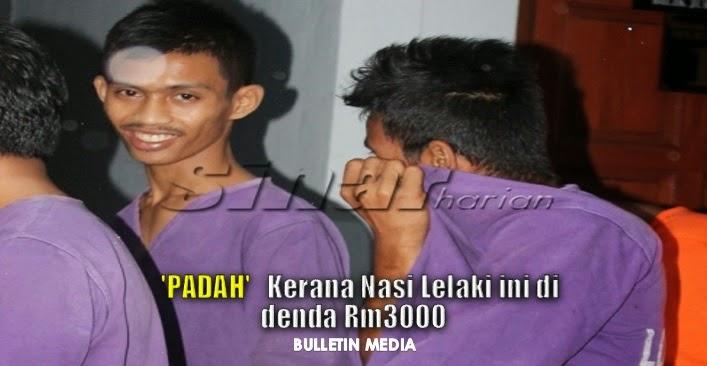 PADAH !! Kerana Nasi Lelaki Ini Didenda RM3000..