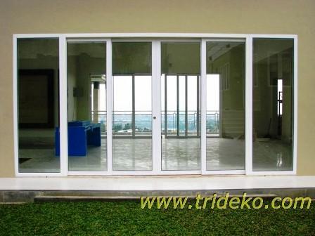 Pintu Jendela Kaca Aluminium