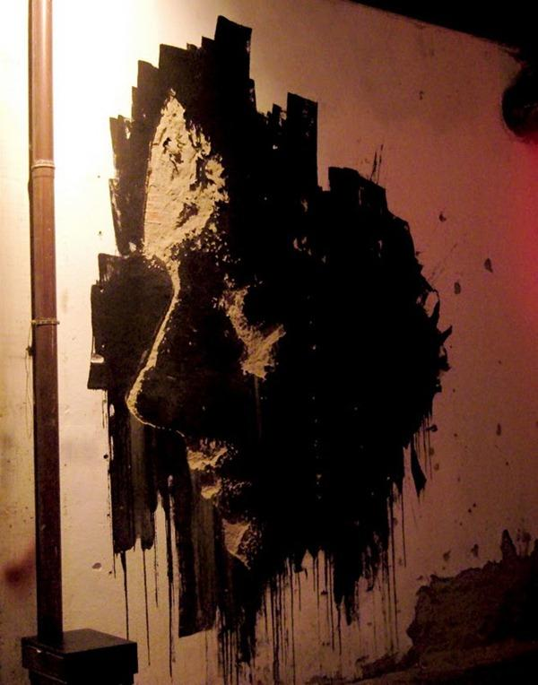 Vhils's Chipped Wall Portraits Seen On www.coolpicturegallery.us