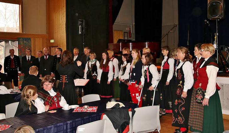 Gemengd koor Sneppen op 17 mei 2015