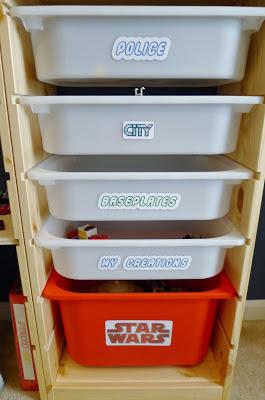 Ikea Hack DIY Lego Storage Table