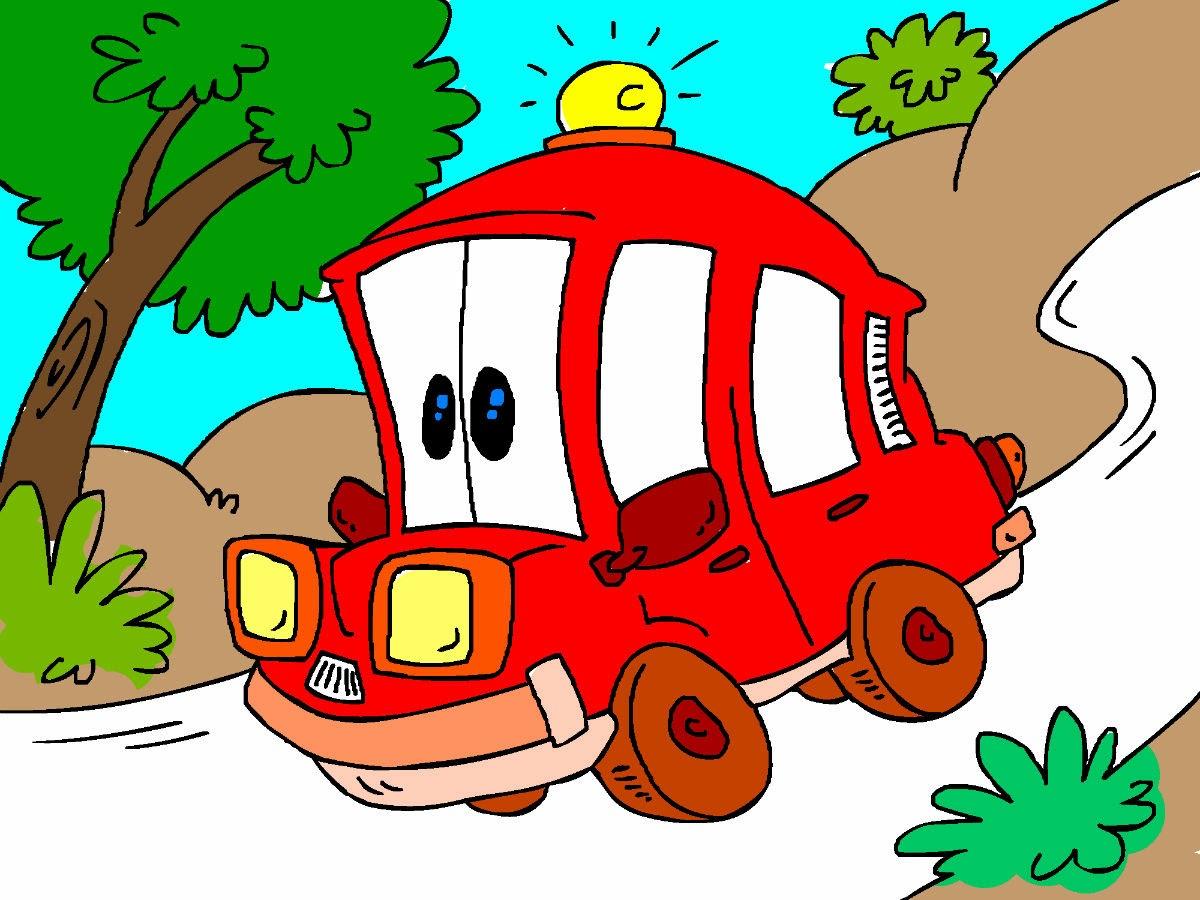 O JotaV pintou uma ambulância