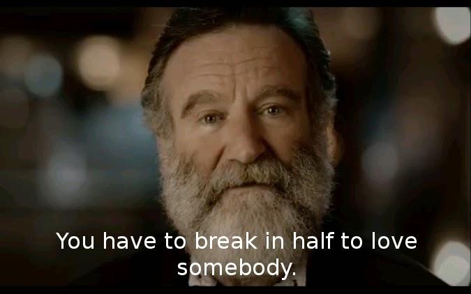 Robin Williams Love quote
