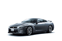 2012 MY Nissan GT-R official press media photo image picture high resolution original source facelift revised new generation enhanced restyled special exclusive edition 530hp Dark metal gray