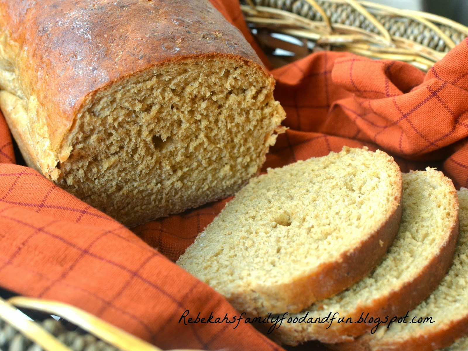 Family, Food, and Fun: Homemade Brown Bread