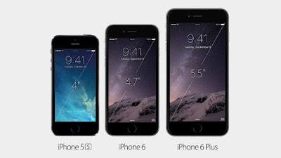 Gli iPhone 6 a confronto