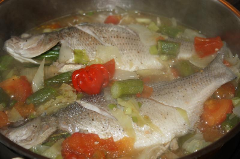Your happiness factor friday recipe jamaican steamed fish for How to steam fish