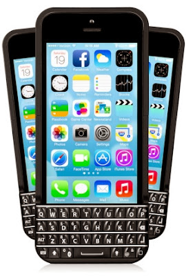 iPhone keyboard - blackberry keyboard on iPhone