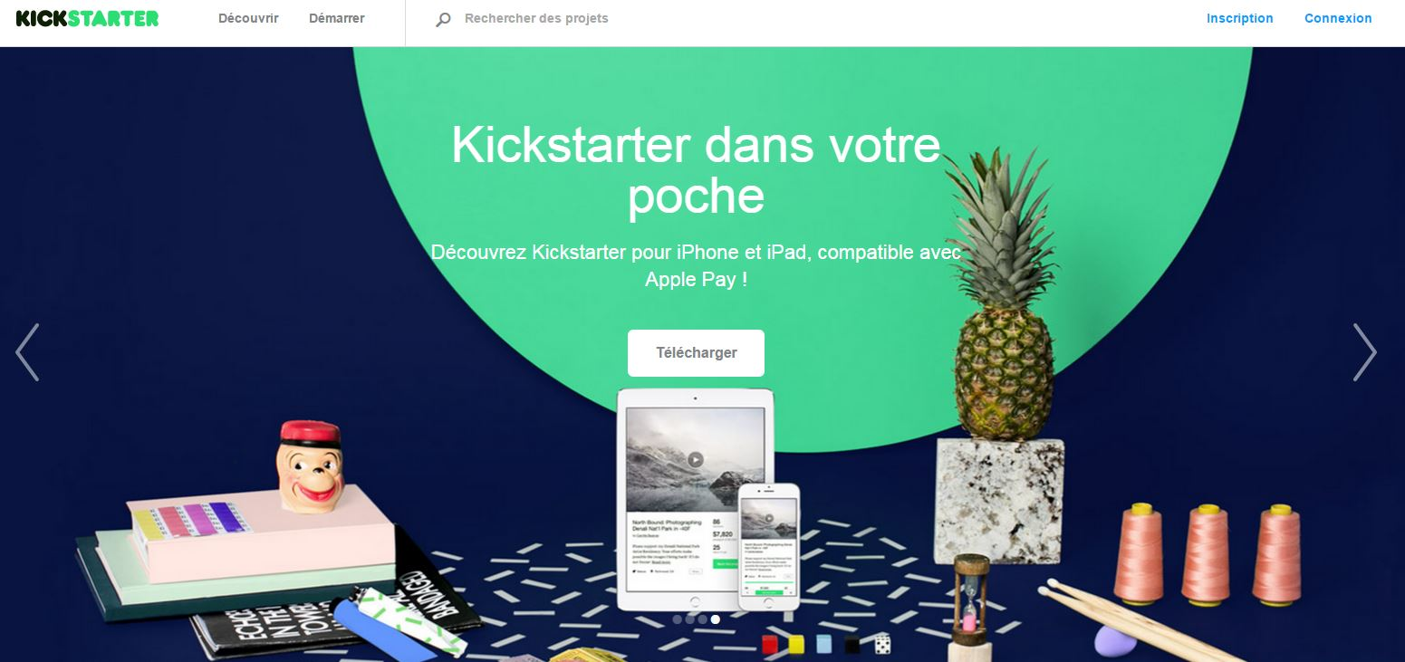 business kickstarter ananas