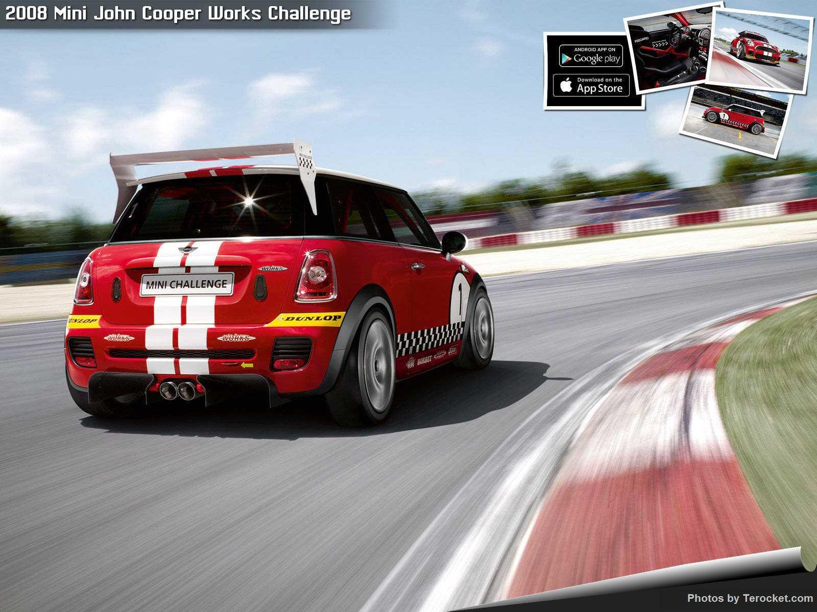 Hình ảnh xe ô tô Mini John Cooper Works Challenge 2008 & nội ngoại thất