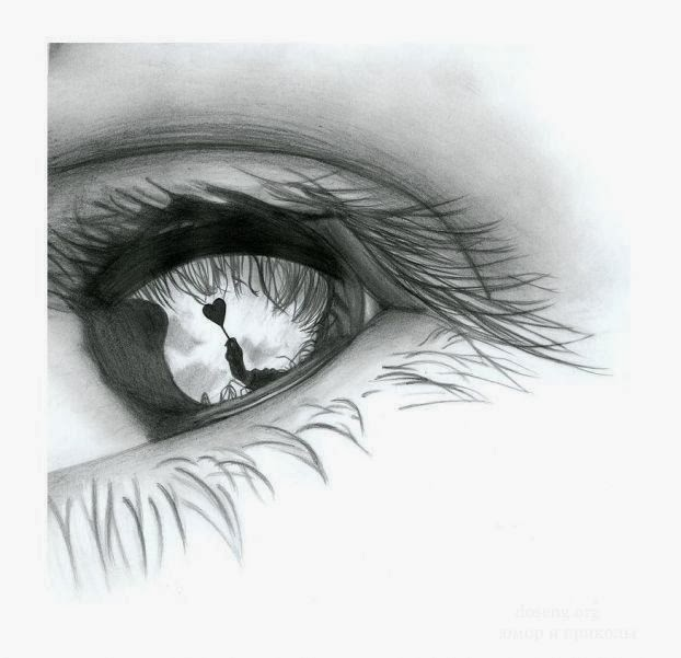 Dibujos a lapiz ojos con lagrimas  Imagui