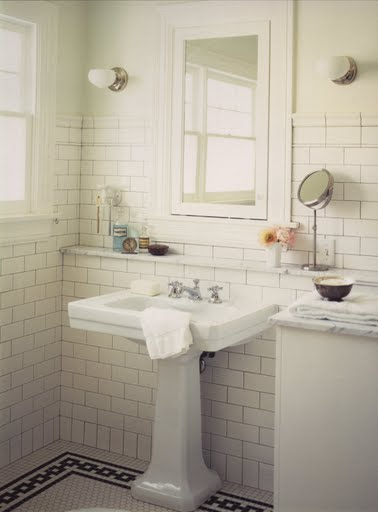 White Subway Tiles Marley And Lockyer