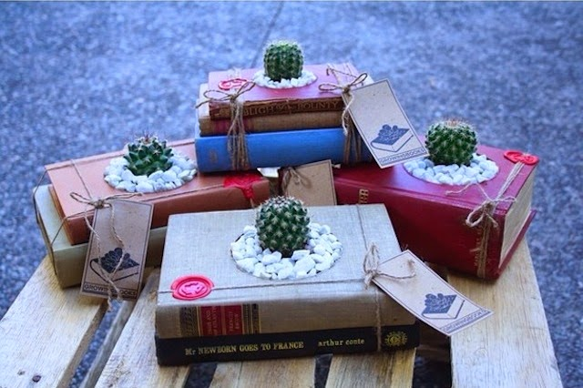 ideas creativas para reciclar libros