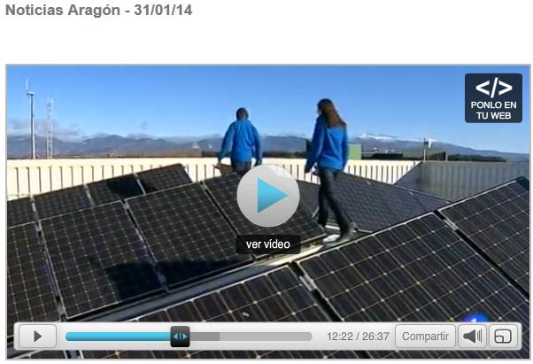 Autoconsumo fotovoltaico en Walqa (Huesca)