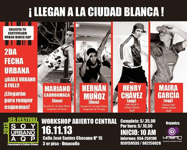 Festival Urbano Arequipa 2013