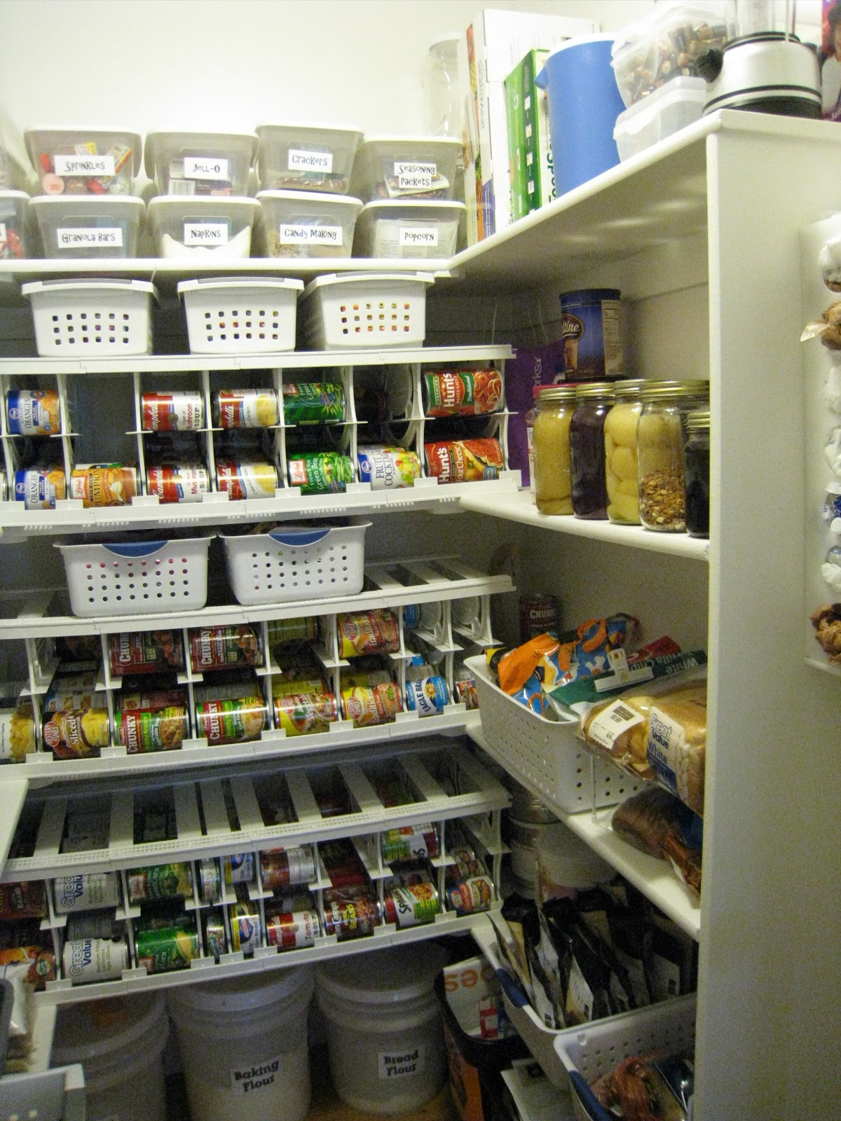 ... Cansolodators It Freed Up A Ton Of Space In Her Food Storage. She Was  Able To Move Most Of Her Canned Goods (like Soup And Corn) Upstairs To Her  Pantry.