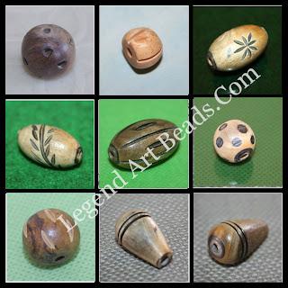 Beautiful wooden designer beads