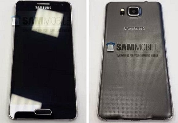 Samsung Galaxy Alpha leaked pictures