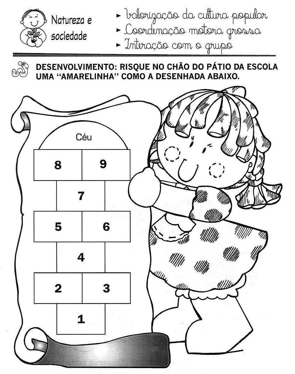 Amado Baú da Educação Infantil: Atividades-Números e letras PC72