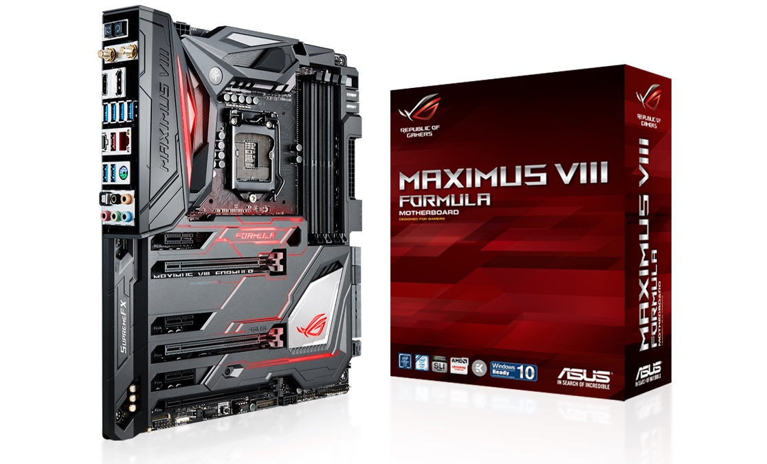 ASUS Republic of Gamers Maximus VIII Formula