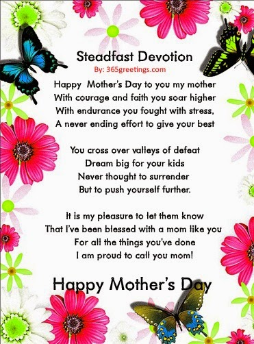 instagram mothers day poems