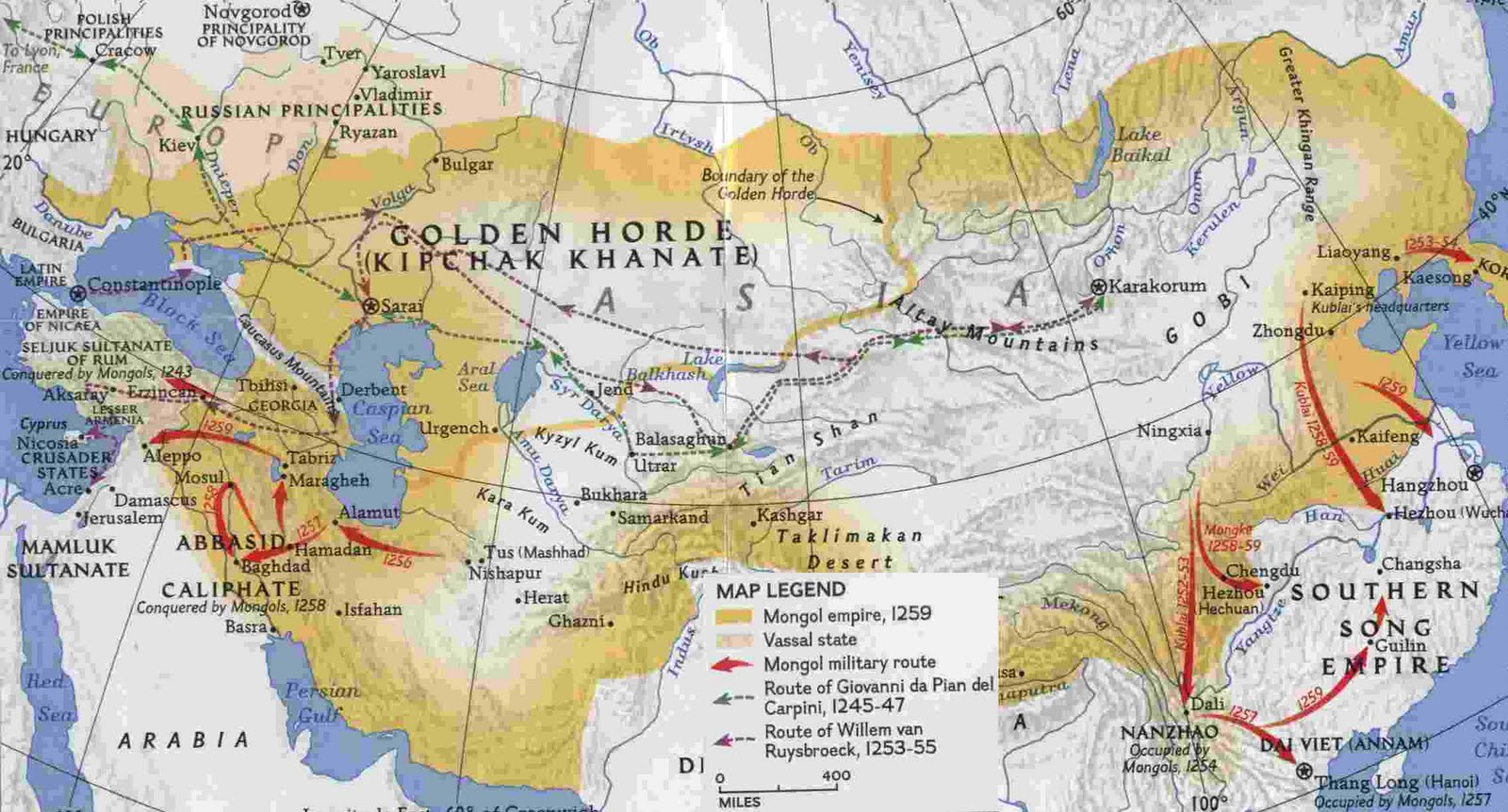 genghis khan and the mongol empire essay The effects of genghis khan's mongol empire on europe were terrors of the  plague and conquest, but also technological and scientific.