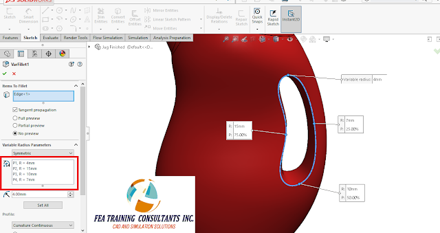 solidworks 2016 splines and surfaces