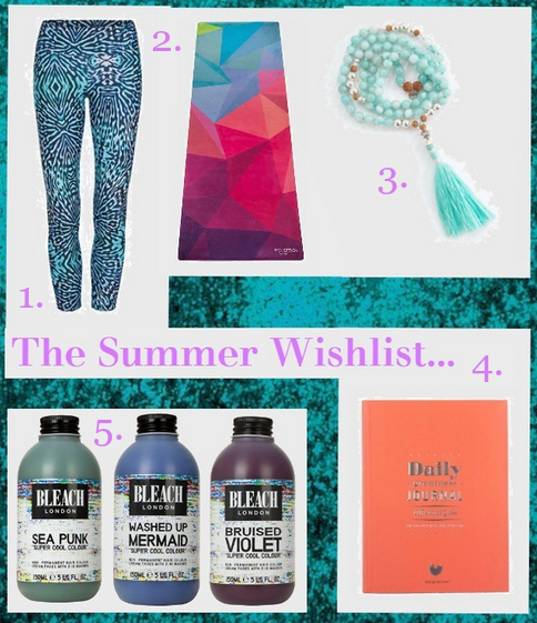 my general life summer wishlist dharma bums active in style mala collective bleach london daily greatness