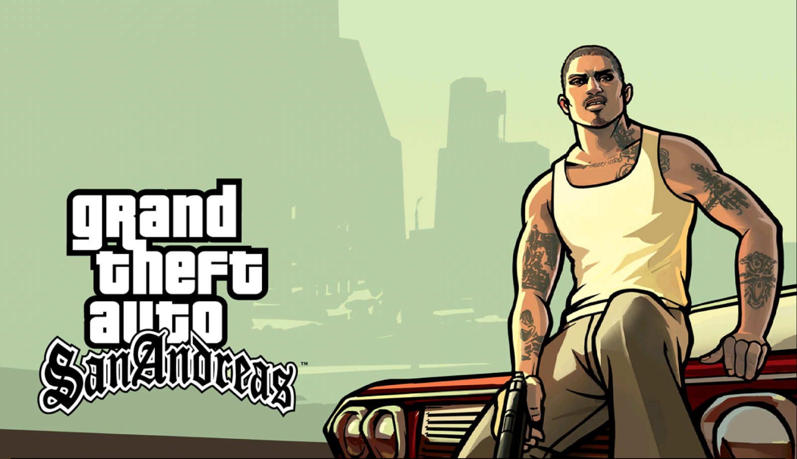 Grand Theft Auto: San Andreas v1.07 APK MOD