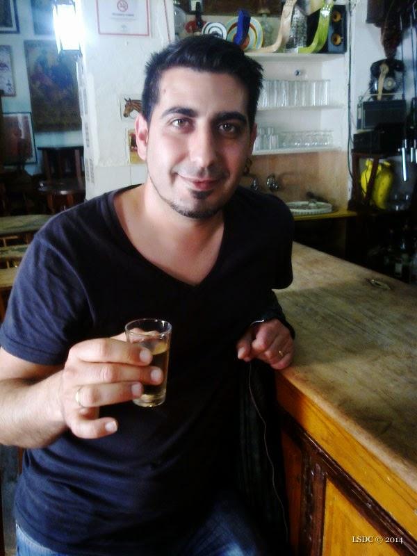 Manuel Contreras en Tabanco San Pablo