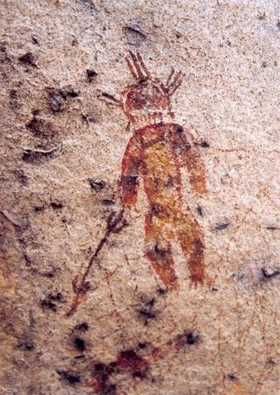 Gli incredibili disegni rupestri risalenti a 10.000 a.c. raffiguranti le prove di un paleocontatto con gli Ufo in India