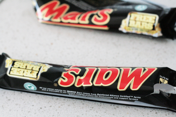 how to make mars bar slice