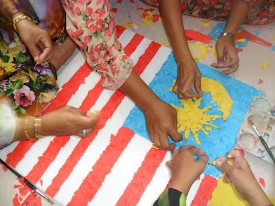 Aktiviti Hari Merdeka Permata Tambun Tulang